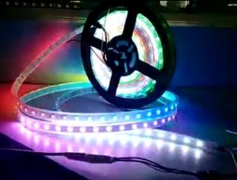 Light tape - Video display